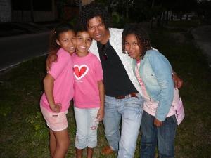 Raíssa, Remilly, eu e Brenda